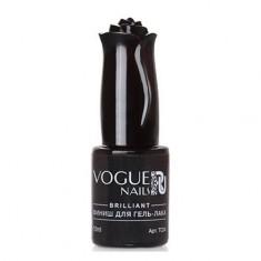 Vogue Nails, Топ для гель-лака Brilliant, 10 мл