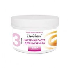 Domix, Сахарная паста DepilActive, плотная, 650 г