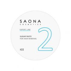 Saona Cosmetics, Сахарная паста для депиляции Ice, очень мягкая, 200 г
