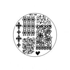 El Corazon, диск для стемпинга № EC-s 546