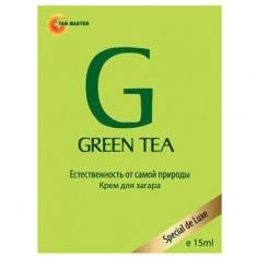 Tan Master, Green Tea 15 мл (крем для загара в солярии)