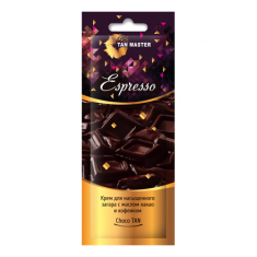 Tan Master, Крем для загара в солярии Espresso, 12 мл