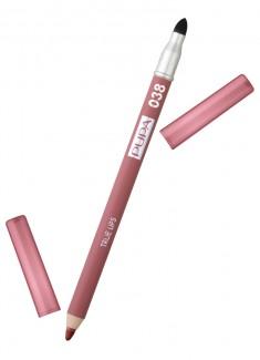 Карандаш для губ с аппликатором Розовый нюд PUPA
