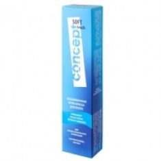 Concept Soft Touch - Крем-краска для волос безаммиачная, тон 10.1 Платиновый блондин, 60 мл Concept (Россия)