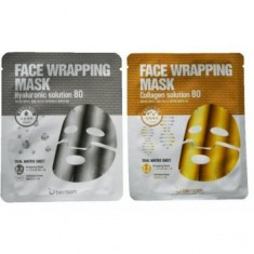 маска для лица berrisom face wrapping mask solution 80