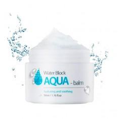глубоко увлажняющий крем-бальзам the skin house water block aqua balm