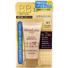 матирующий тональный крем-эссенция meishoku moisture essense cream spf40