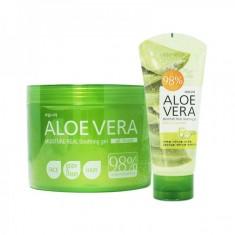 универсальный гель успокаивающий welcos aloe vera moisture real soothing gel