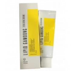 осветляющий крем на основе натуральных экстрактов deoproce musevera lipid gamdong zinc vita cream