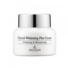 осветляющий крем против пигментации кожи лица the skin house crystal whitening plus cream