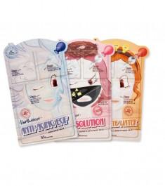 3-шаговая маска для лица elizavecca 3-step mask pack