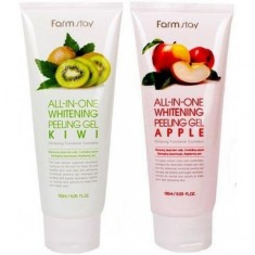 пилинг-гель с экстрактом фруктов farmstay all-in-one whitening peeling gel