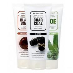 очищающая маска-пленка jigott pure clean peel off pack