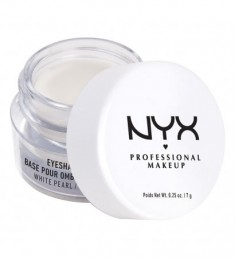 NYX PROFESSIONAL MAKEUP Основа для теней Eye Shadow Base - White Pearl 02