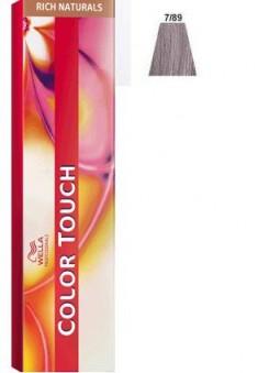 WELLA PROFESSIONALS 7/89 краска для волос, серый жемчуг / Color Touch 60 мл