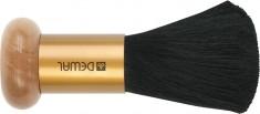 DEWAL PROFESSIONAL Кисть-сметка настольная, ручка дерево/металл, натуральная овечья щетина
