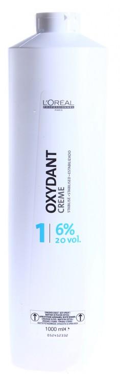 L'OREAL PROFESSIONNEL Оксидент-крем 6% (20vol) / OXYDANTS 1000 мл LOREAL PROFESSIONNEL