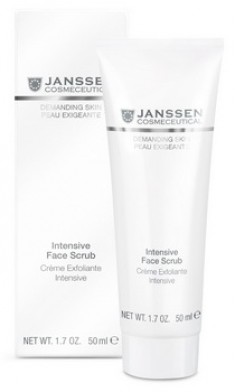 JANSSEN COSMETICS Скраб интенсивный / Intensive Face Scrub DEMANDING SKIN 50 мл