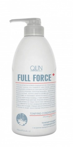 OLLIN PROFESSIONAL Кондиционер тонизирующий с экстрактом пурпурного женьшеня / FULL FORCE 750 мл
