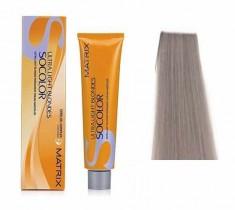 MATRIX UL-A+ краска для волос, пепельный+ / СОКОЛОР БЬЮТИ ULTRA BLONDE 90 мл