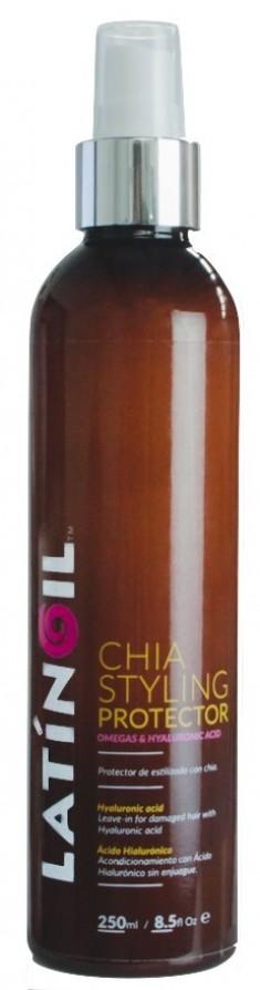 LATINOIL Спрей термозащитный с маслом чиа для волос / CHIA STYLING PROTECTOR 250 мл
