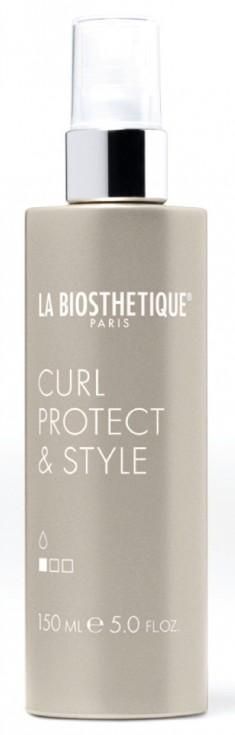 LA BIOSTHETIQUE Спрей термоактивный для укладки и защиты кудрей при использовании плойки / Curl Protect & Style 150 мл