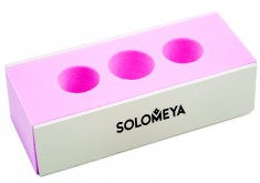 SOLOMEYA Блок-полировщик 2-х сторонний с отверстием под пальцы / 2 WAY BLOCK BUFFER
