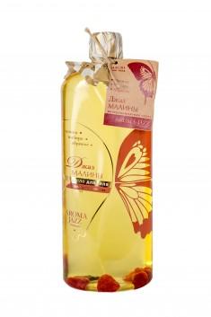 AROMA JAZZ Масло массажное жидкое для тела Джаз малины 1000 мл