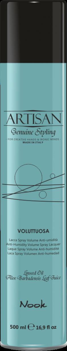 NOOK Лак для придания объема волосам / Voluttuosa Volume Spray Lacquer ARTISAN 500 мл