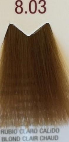 FARMAVITA 8.03 краска для волос, теплый светлый блондин / LIFE COLOR PLUS 100 мл