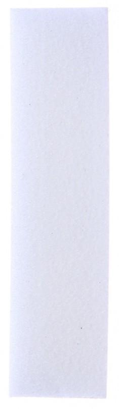 SOLOMEYA Блок-шлифовщик для ногтей, белый / White Sanding Block