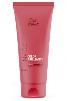 Wella Invigo Color Brilliance Бальзам-уход для защиты цвета окрашенных жестких волос 200мл