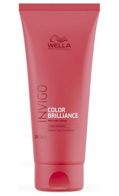 Wella Invigo Color Brilliance Бальзам-уход для защиты цвета окрашенных нормальных и тонких волос 200мл