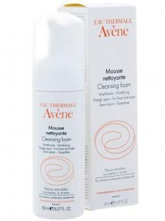 Avene (Авен) Очищающая пенка для лица и области вокруг глаз 150 мл