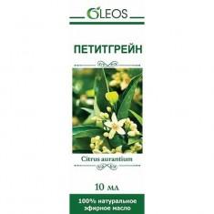 Масло Петитгрейна эфирное 10 мл Oleos