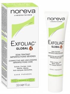 Норева (Noreva) Эксфолиак Крем Глобал 6 для проблемной кожи лица 30 мл