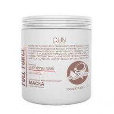 Интенсивная восстанавливающая маска с маслом кокоса, 250 мл (Ollin Professional)