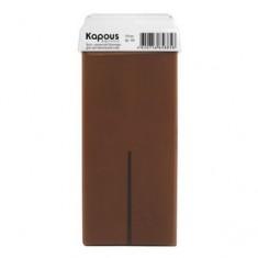 Жирорастворимый воск с ароматом шоколада с широким роликом, 100 мл (Kapous Professional)