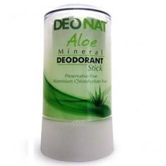 Дезодорант кристалл с соком Алоэ, 40 г (DeoNat)