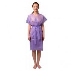 Халат-кимоно без рукавов, сиреневый, 10 шт. (Чистовье) ЧИСТОВЬЕ