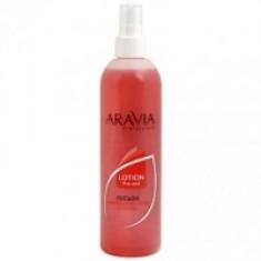 Aravia Professional - Лосьон для подготовки кожи перед депиляцией с экстрактами мяты и березы, 300 мл