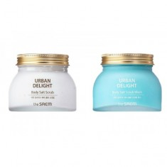 скраб для тела the saem urban delight body salt scrub