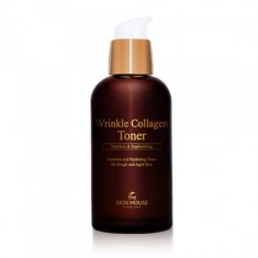 коллагеновый тоник от морщин the skin house wrinkle collagen toner
