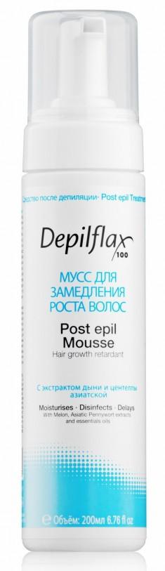 DEPILFLAX 100 Мусс для замедления роста волос / Post Epil Mousse 200 мл