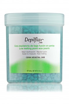DEPILFLAX 100 Воск горячий в гранулах, зеленый 600 г