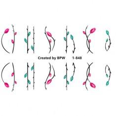 BPW.Style, Слайдер-дизайн «Цветы» №1-848