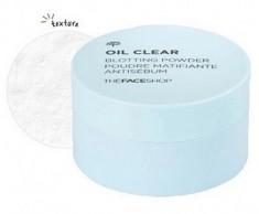 Пудра рассыпчатая для жирной кожи THE FACE SHOP Oil Clear Blotting Powder