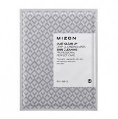 Тканевая маска очищающая MIZON Dust Clean Up Deep Cleansing Mask 25г