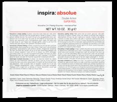 INSPIRA COSMETICS Скраб энзимный 2 в 1 / Double Action Super Peel INSPIRA ABSOLUE 30 г Janssen