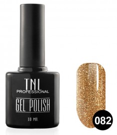 TNL PROFESSIONAL 082 гель-лак для ногтей, корица 10 мл